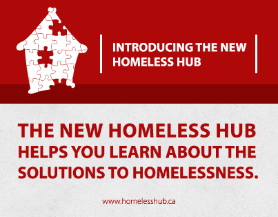 The new Homeless Hub helps you learn about the solutions to homelessness.