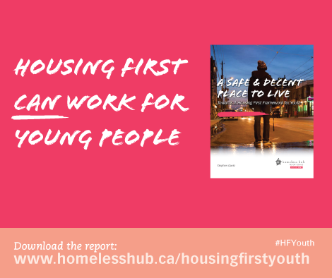 Housing First can work for young people.