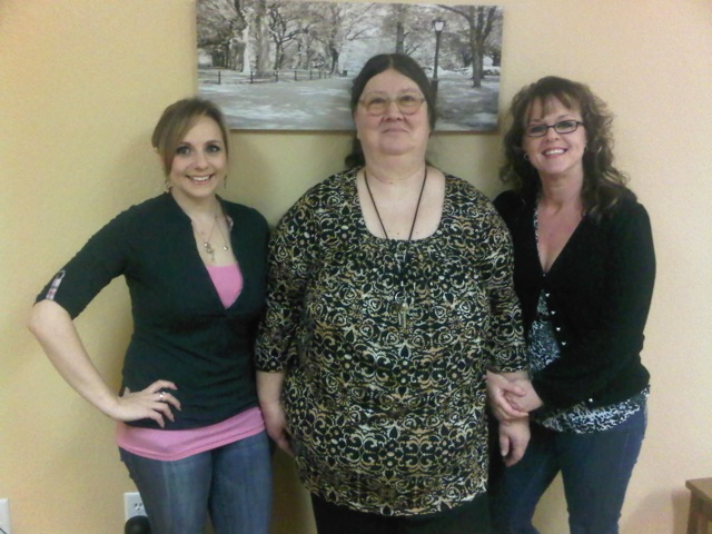 Left to right: Case Manager Constance Bravos, Case Manager Megan Monahan, and Program Coordinator Deborah Keenan, Contra Costa Adult Continuum of Services staff.