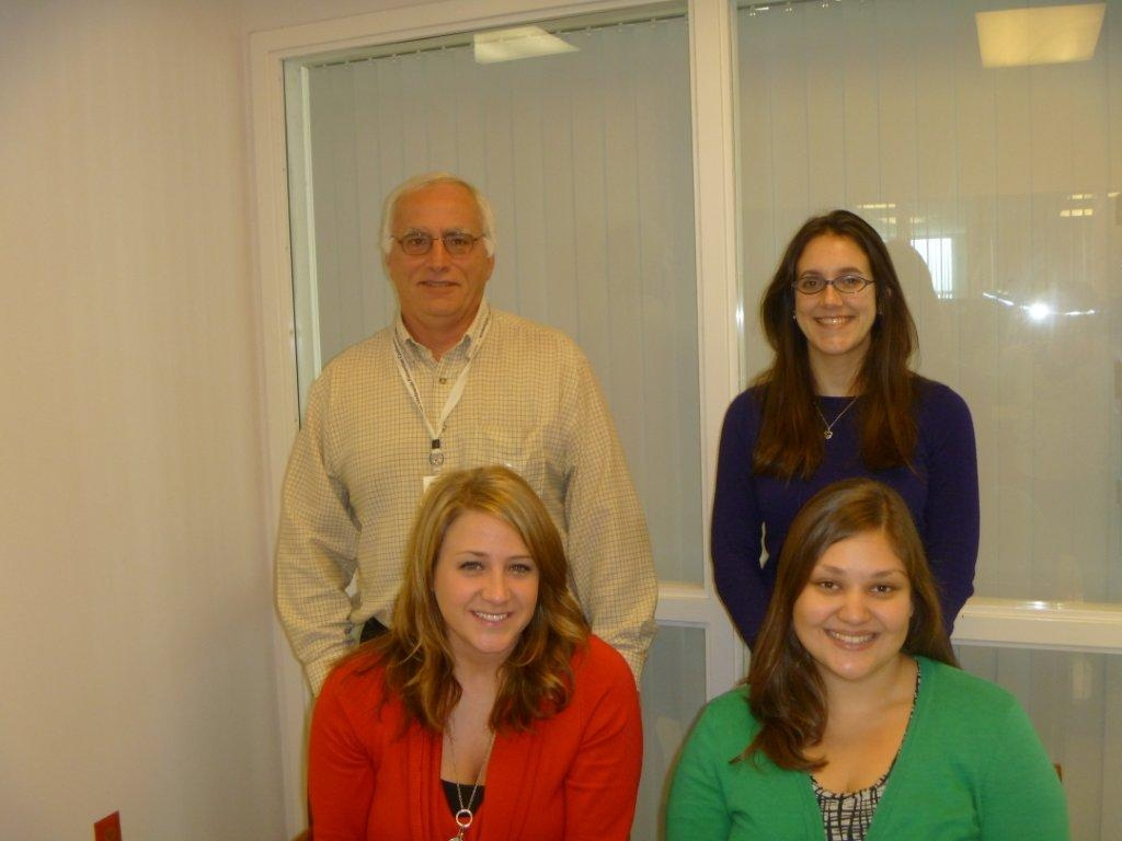 Top left, clockwise: U-Turn Research Staff: Dr. Mark Vargo, Danielle Schiller, Amy Kesterson, and  Vanessa Lewis