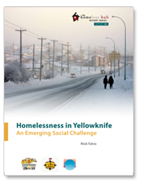 Homelessness in Yellowknife book cover