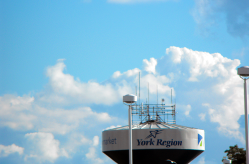 York Region sign