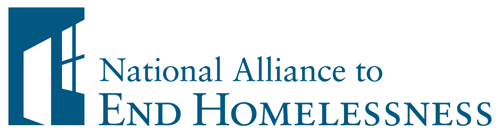 National Alliance to End Homelessness logo.