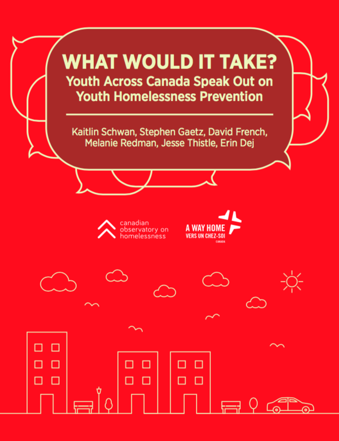 what would it take youth across canada speak out on youth